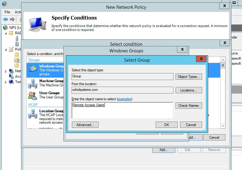 Configuring NPS 2012 for Two-factor Authentication | Security