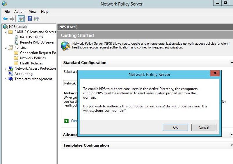 Configuring NPS 2012 for Two-factor Authentication