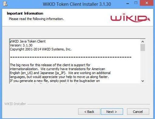 install softare token