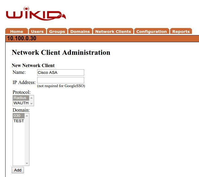 2 factor for cisco asa - WiKID2