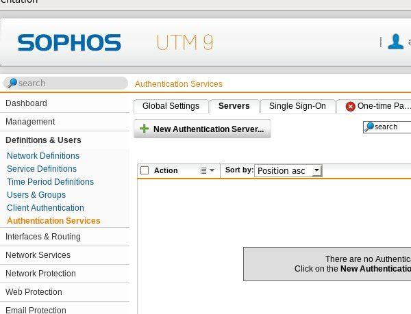 How to configure a Sophos UTM for two-factor authentication